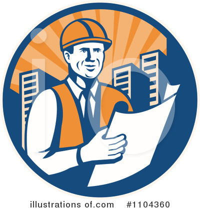 Architect Clipart #1104360 by patrimonio