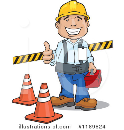 Construction Clipart #1189824 by David Rey