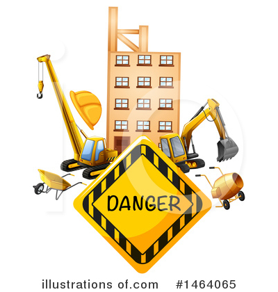 Heavy Machinery Clipart #1464065 by Graphics RF