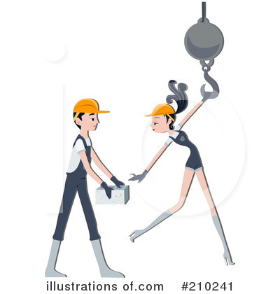 Construction Worker Clipart #210241 by BNP Design Studio