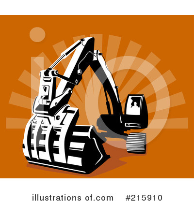 Bulldozer Clipart #215910 by patrimonio
