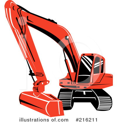 Bulldozer Clipart #216211 by patrimonio