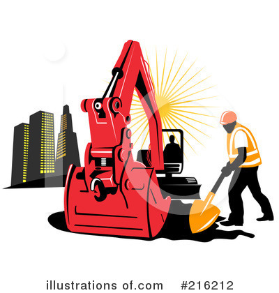 Bulldozer Clipart #216212 by patrimonio
