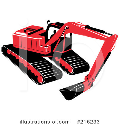 Bulldozer Clipart #216233 by patrimonio