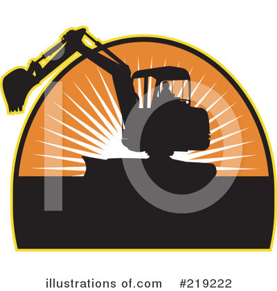 Bulldozer Clipart #219222 by patrimonio