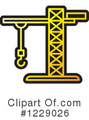 Construction Crane Clipart #1229026 by Lal Perera
