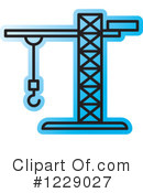 Construction Crane Clipart #1229027 by Lal Perera