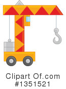 Construction Crane Clipart #1351521 by Alex Bannykh