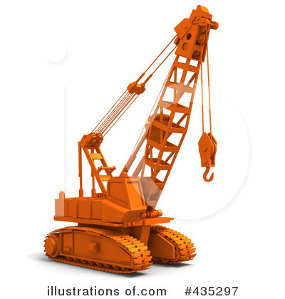 Construction Crane Clipart #435297 by Tonis Pan
