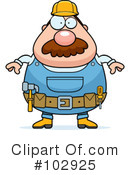 Construction Worker Clipart #102925