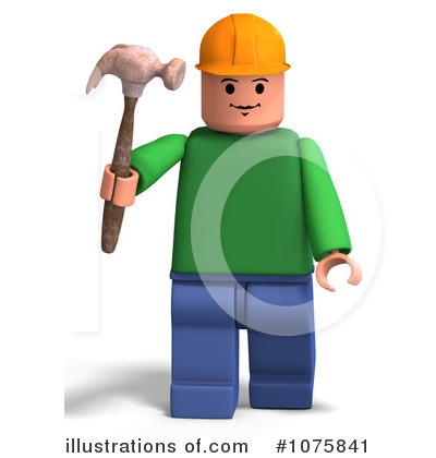Toy Man Clipart #1075841 by Ralf61