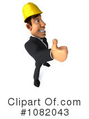 Construction Worker Clipart #1082043 by Julos