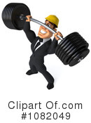 Construction Worker Clipart #1082049 by Julos