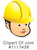 Construction Worker Clipart #1117438 by Lal Perera