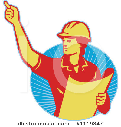 Foreman Clipart #1119347 by patrimonio