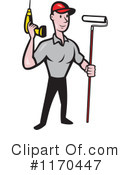 Royalty-Free (RF) construction worker Clipart Illustration #1170447
