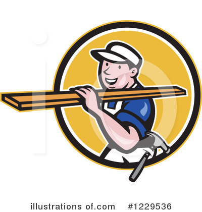 Carpenter Clipart #1229536 by patrimonio