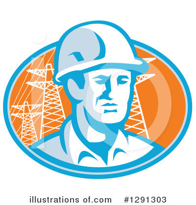 Foreman Clipart #1291303 by patrimonio