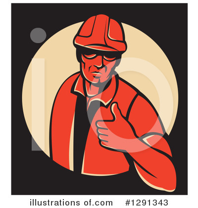 Foreman Clipart #1291343 by patrimonio