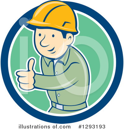 Builder Clipart #1293193 by patrimonio