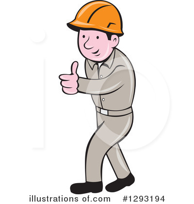 Foreman Clipart #1293194 by patrimonio