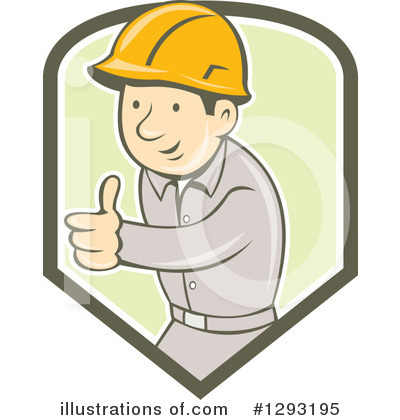 Foreman Clipart #1293195 by patrimonio