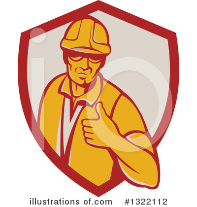 Foreman Clipart #1322112 by patrimonio
