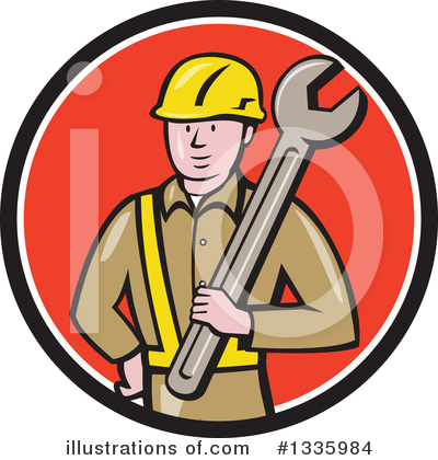 Construction Clipart #1335984 by patrimonio