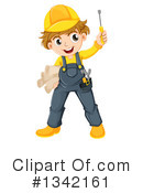 Construction Worker Clipart #1342161 by Graphics RF