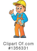 Construction Worker Clipart #1356331 by visekart