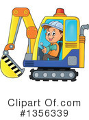 Construction Worker Clipart #1356339 by visekart
