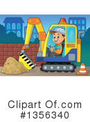 Construction Worker Clipart #1356340 by visekart
