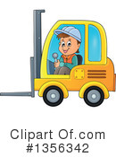 Construction Worker Clipart #1356342 by visekart