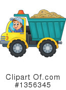 Royalty-Free (RF) Construction Worker Clipart Illustration #1356345