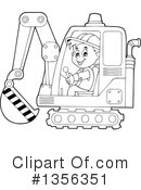 Construction Worker Clipart #1356351 by visekart