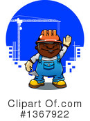 Construction Worker Clipart #1367922 by Vector Tradition SM