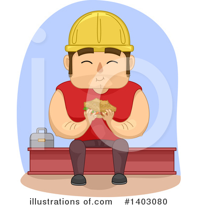 Worker Clipart #1403080 by BNP Design Studio