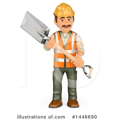 Worker Clipart #1446690 by Texelart