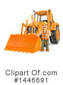 Construction Worker Clipart #1446691 by Texelart
