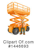 Construction Worker Clipart #1446693 by Texelart