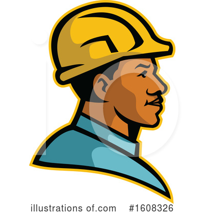 Electrician Clipart #1608326 by patrimonio