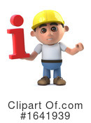 Construction Worker Clipart #1641939 by Steve Young