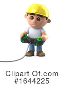 Construction Worker Clipart #1644225 by Steve Young