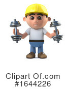 Construction Worker Clipart #1644226 by Steve Young