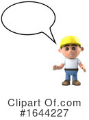 Construction Worker Clipart #1644227 by Steve Young