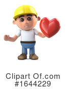 Construction Worker Clipart #1644229 by Steve Young