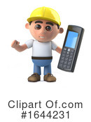 Construction Worker Clipart #1644231 by Steve Young