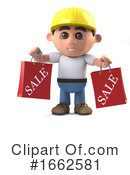 Construction Worker Clipart #1662581 by Steve Young