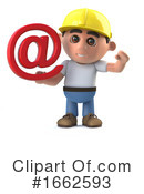 Construction Worker Clipart #1662593 by Steve Young
