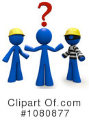 Royalty-Free (RF) Contractor Clipart Illustration #1080877